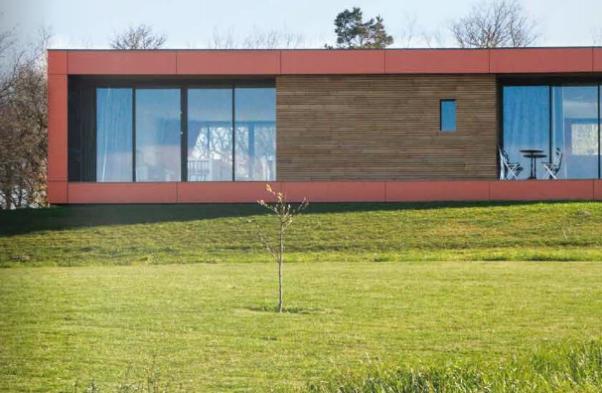 Maison d 39 architecte la maison cologique - Architecture du bois ...