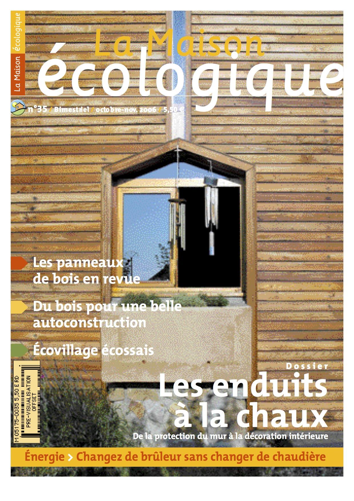 Couv 35 la maison cologique - La maison ecologique ...