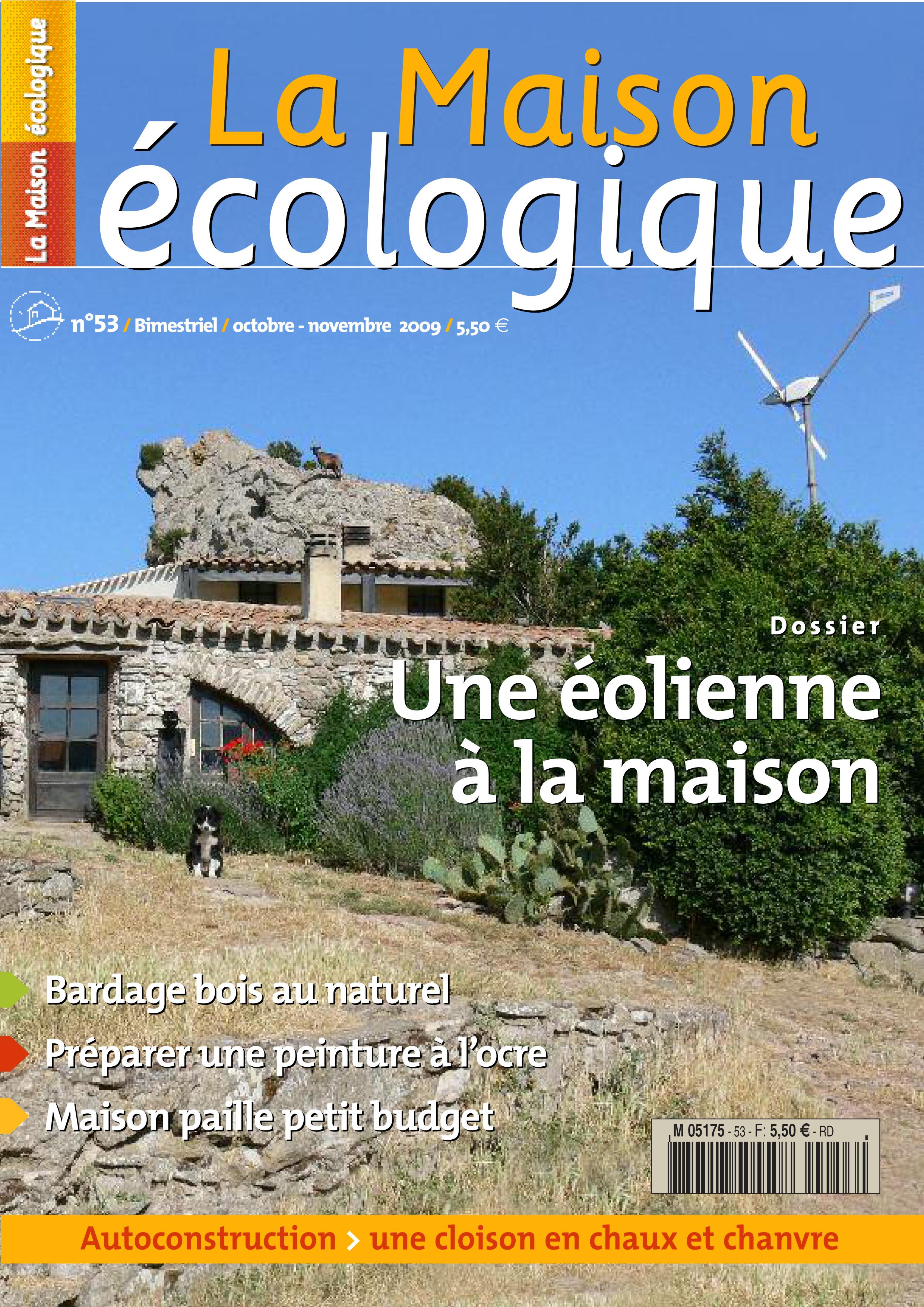 Couv 53 la maison cologique - La maison ecologique ...