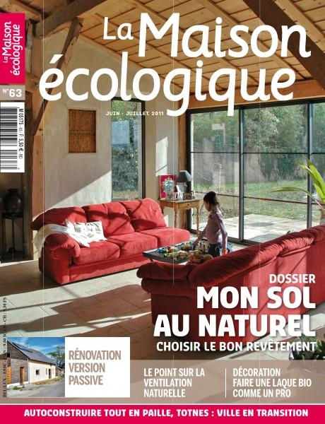 La Maison Ecologique N°63