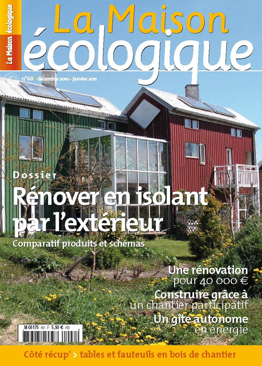 Couv60 la maison cologique - La maison ecologique ...