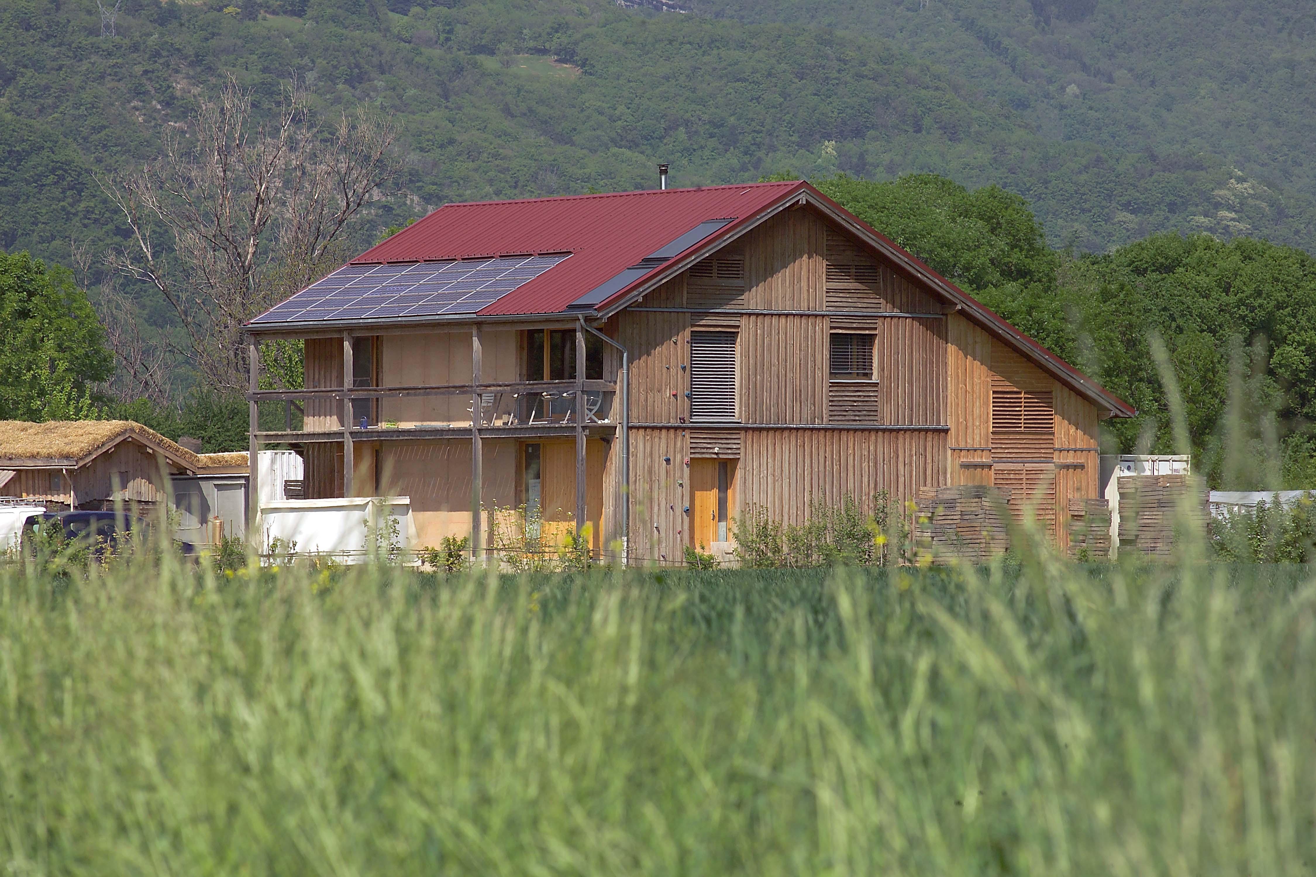 Maison d architecte la maison cologique for Architecte maison ecologique