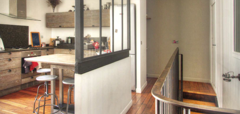 appartement paris duplex cologique la maison cologique. Black Bedroom Furniture Sets. Home Design Ideas