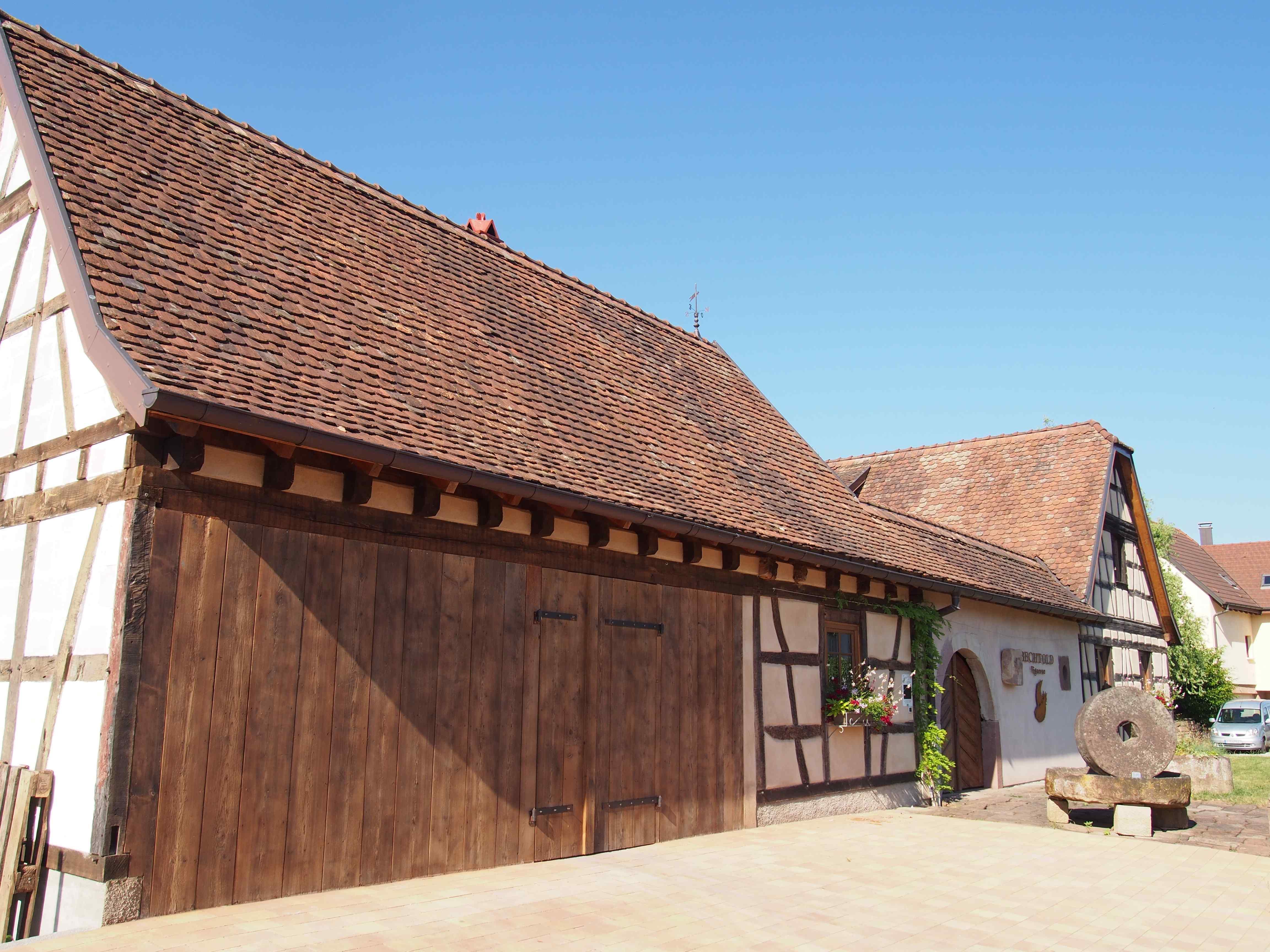 maisons anciennes à colombages