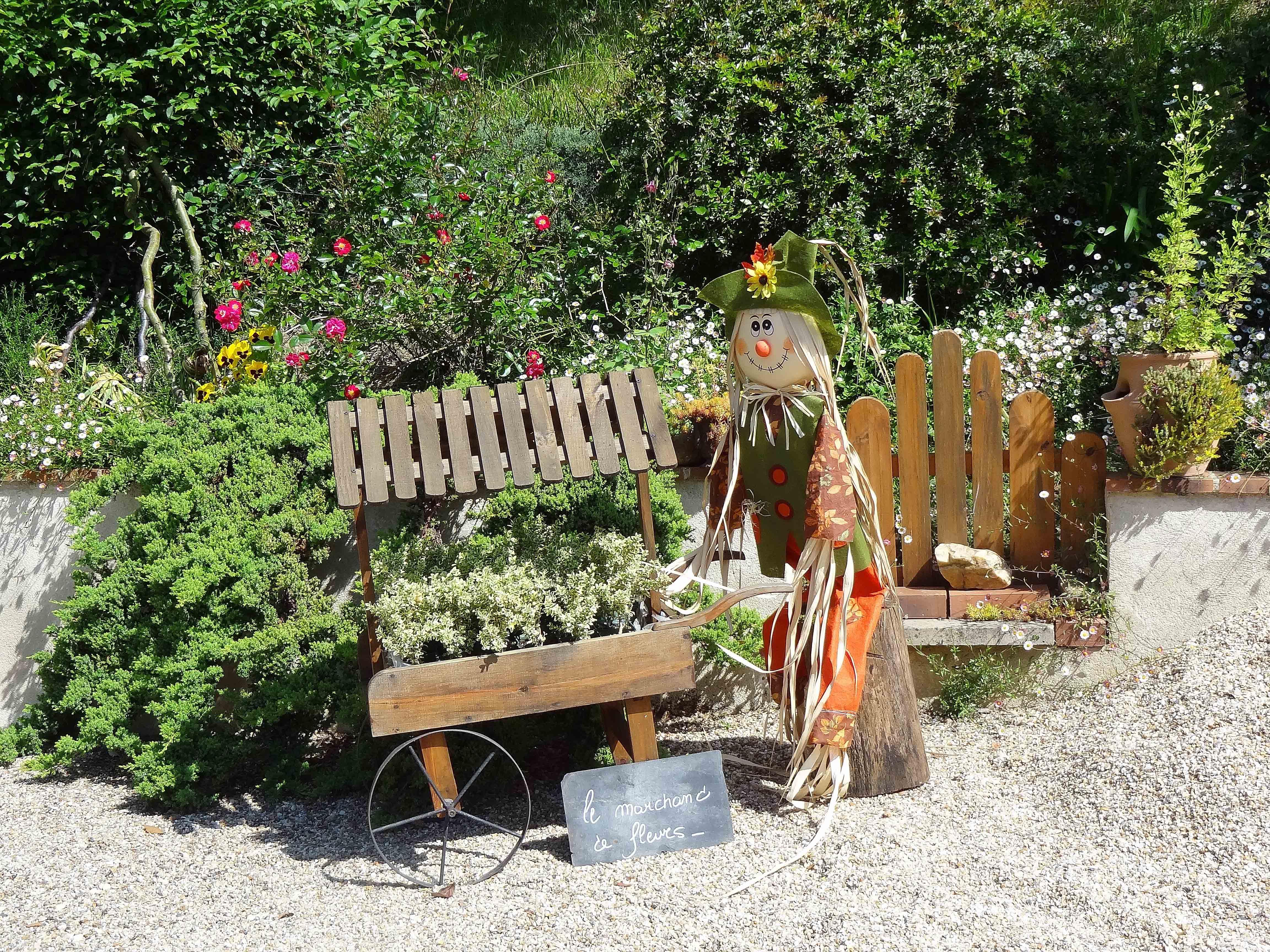 recycler et décorer votre jardin