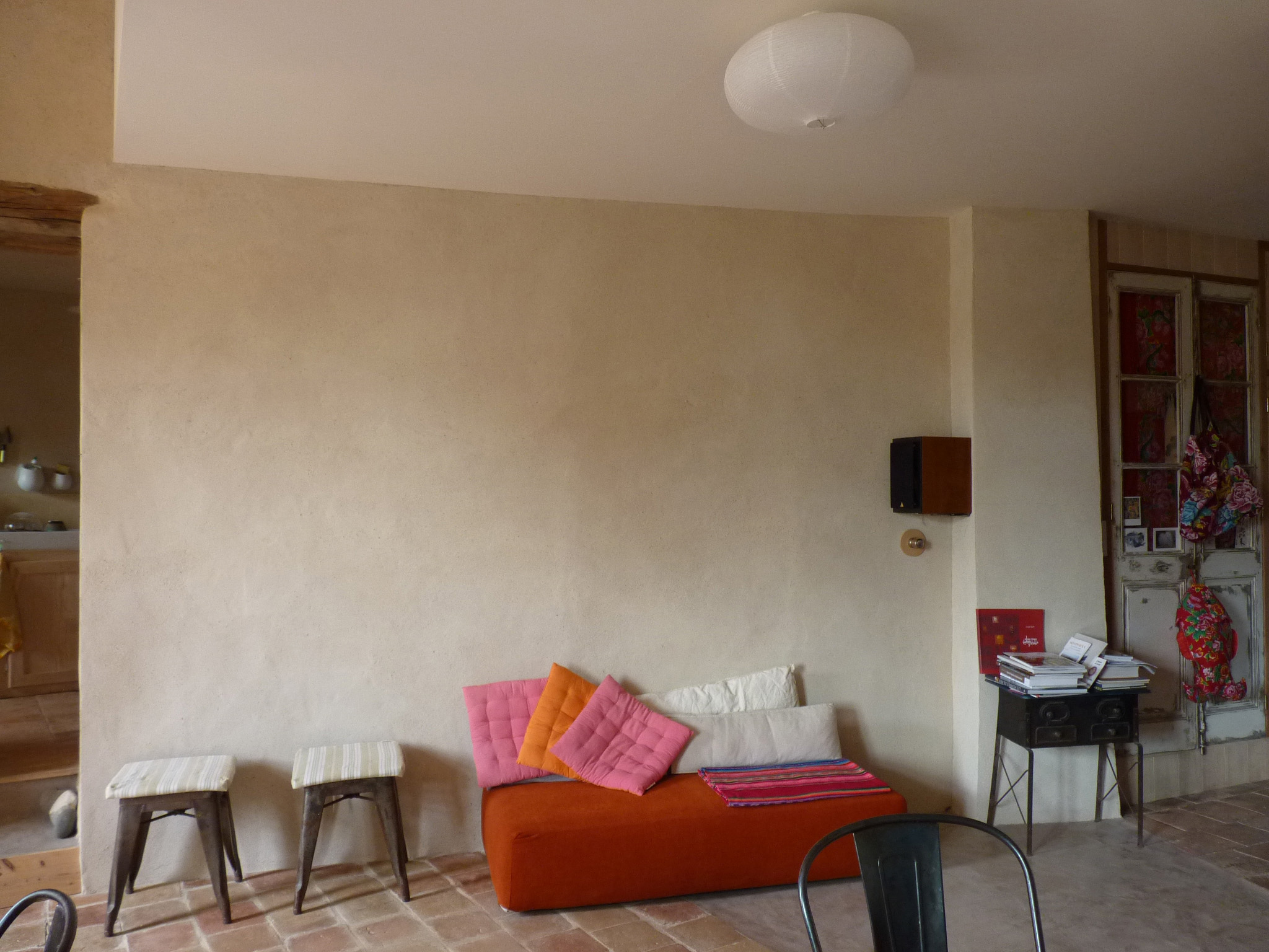 murs chauffants