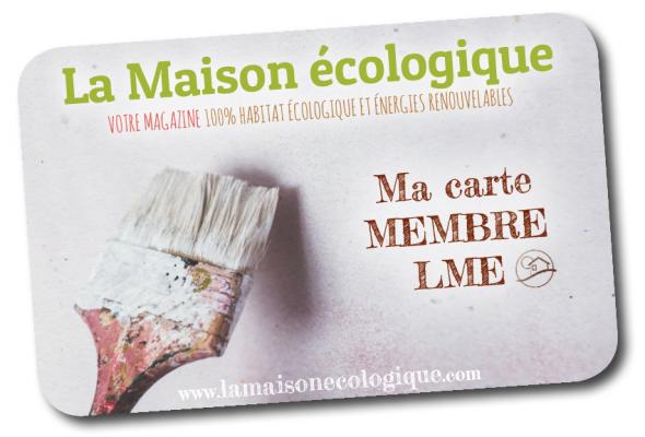 Carte membre La Maison écologique