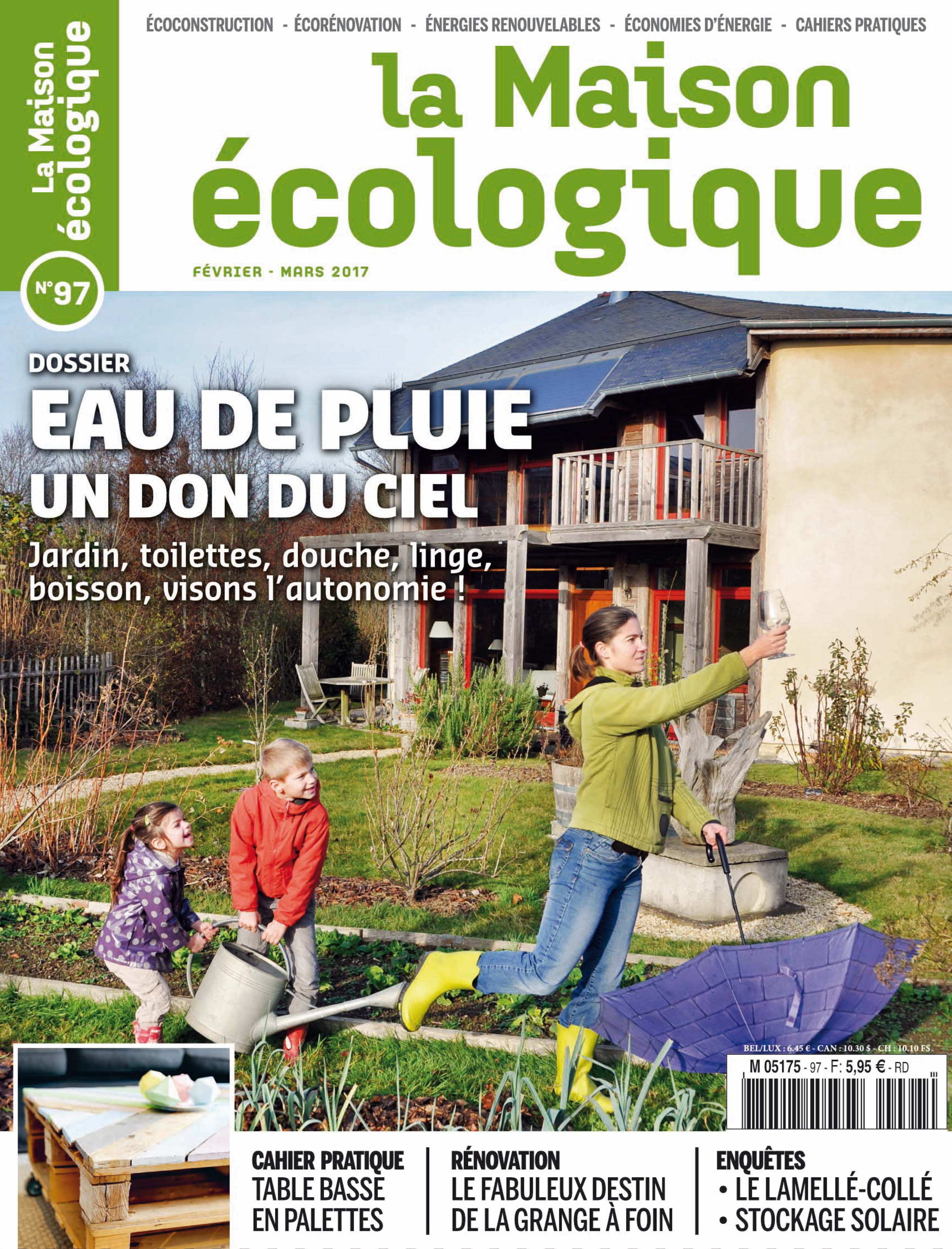La maison cologique un magazine 100 ind pendant au for Magazine jardinage