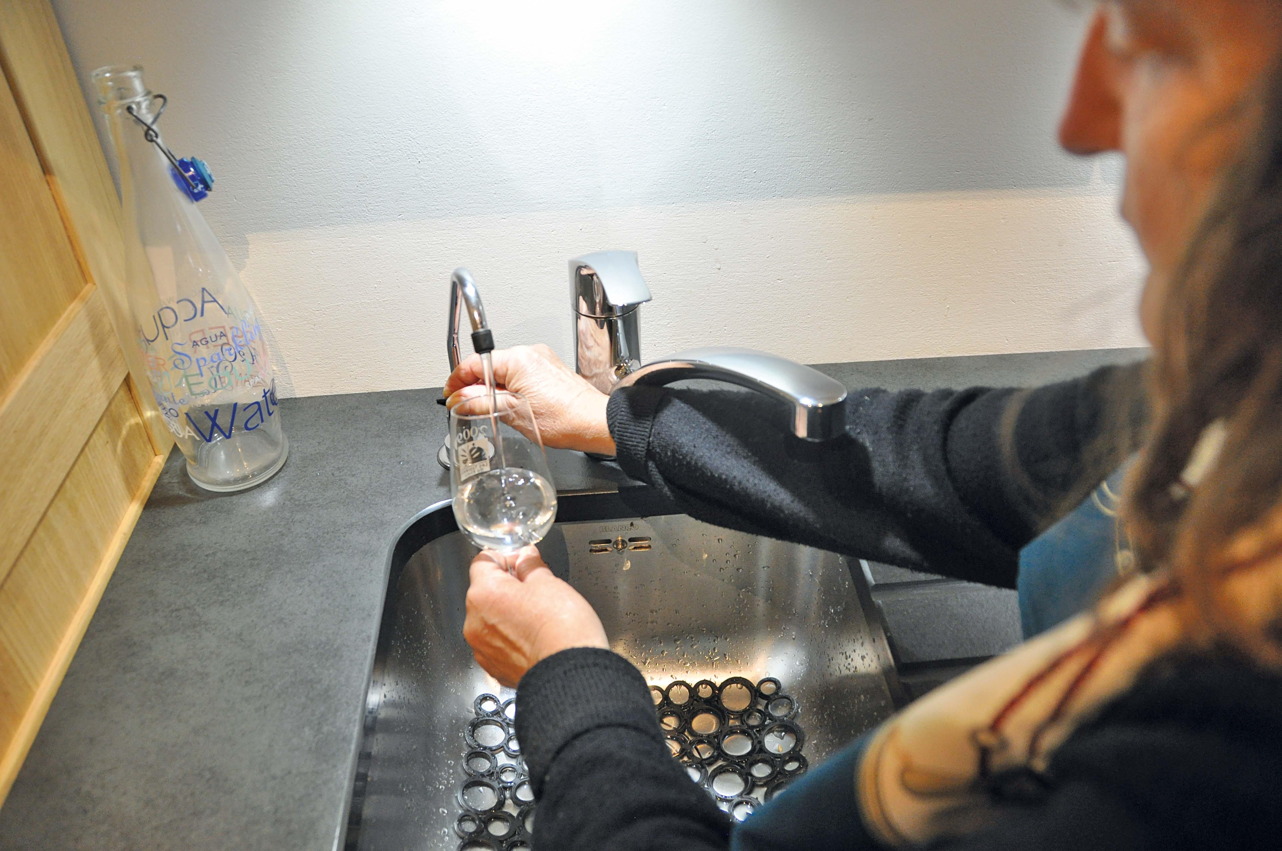 gestion eau cuisine