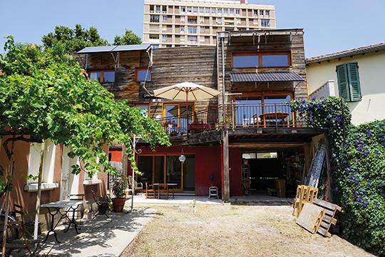 Maison écologique à Avignon