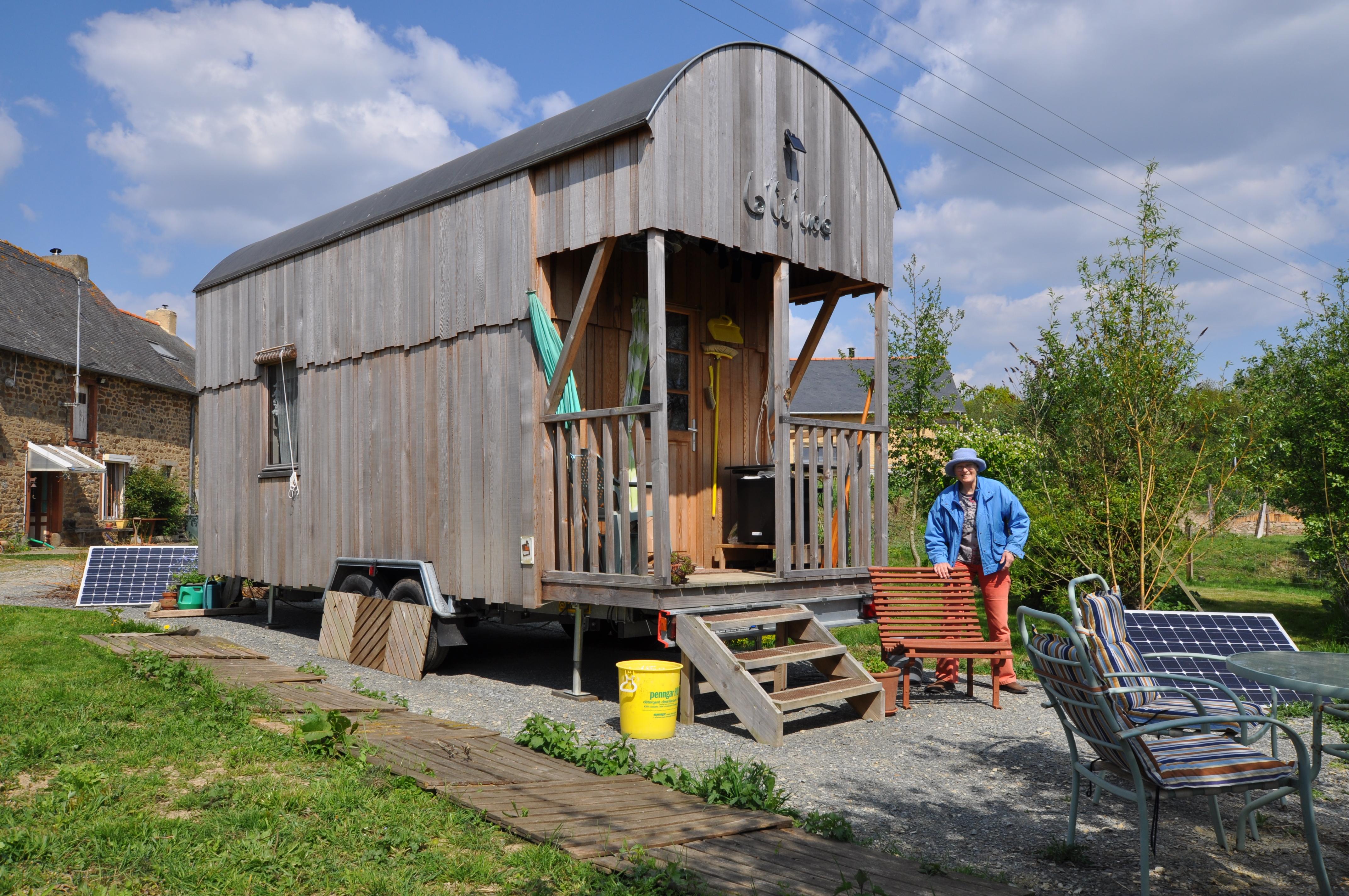 tiny house maison écologique bretagne LME100