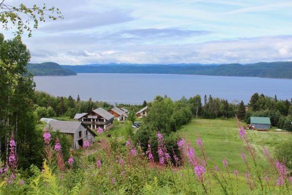 eco-hameau de la Baie au Quebec