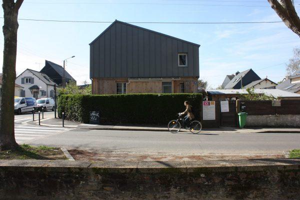 surélévation écologique en bois à Rennes en Bretagne. crédit 10i2LA