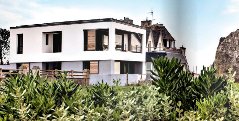 maison d 39 architecte la maison cologique. Black Bedroom Furniture Sets. Home Design Ideas