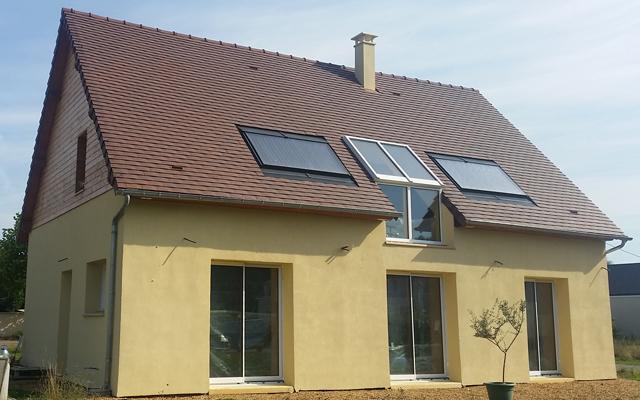 maison passive matériaux recyclés