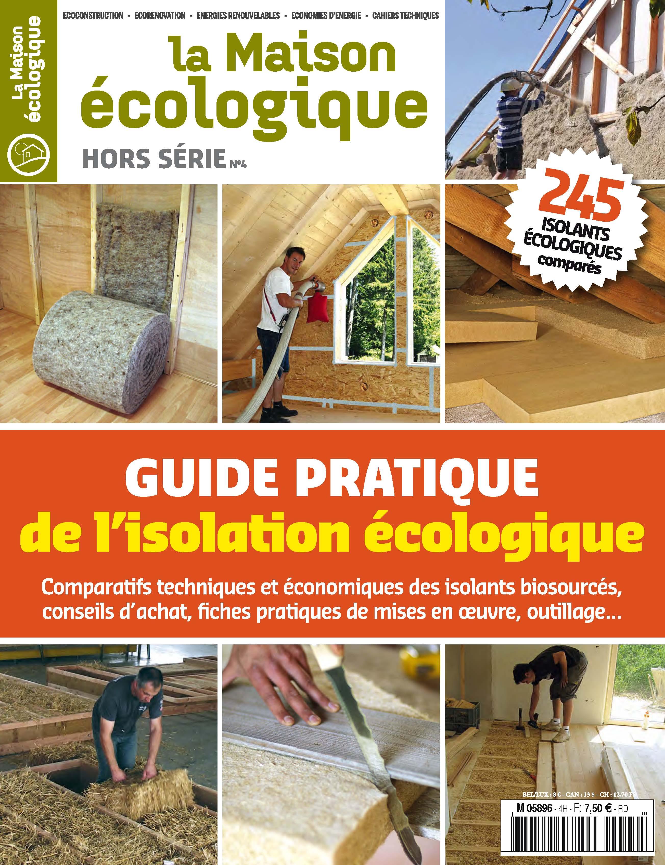 isolation maison écologique