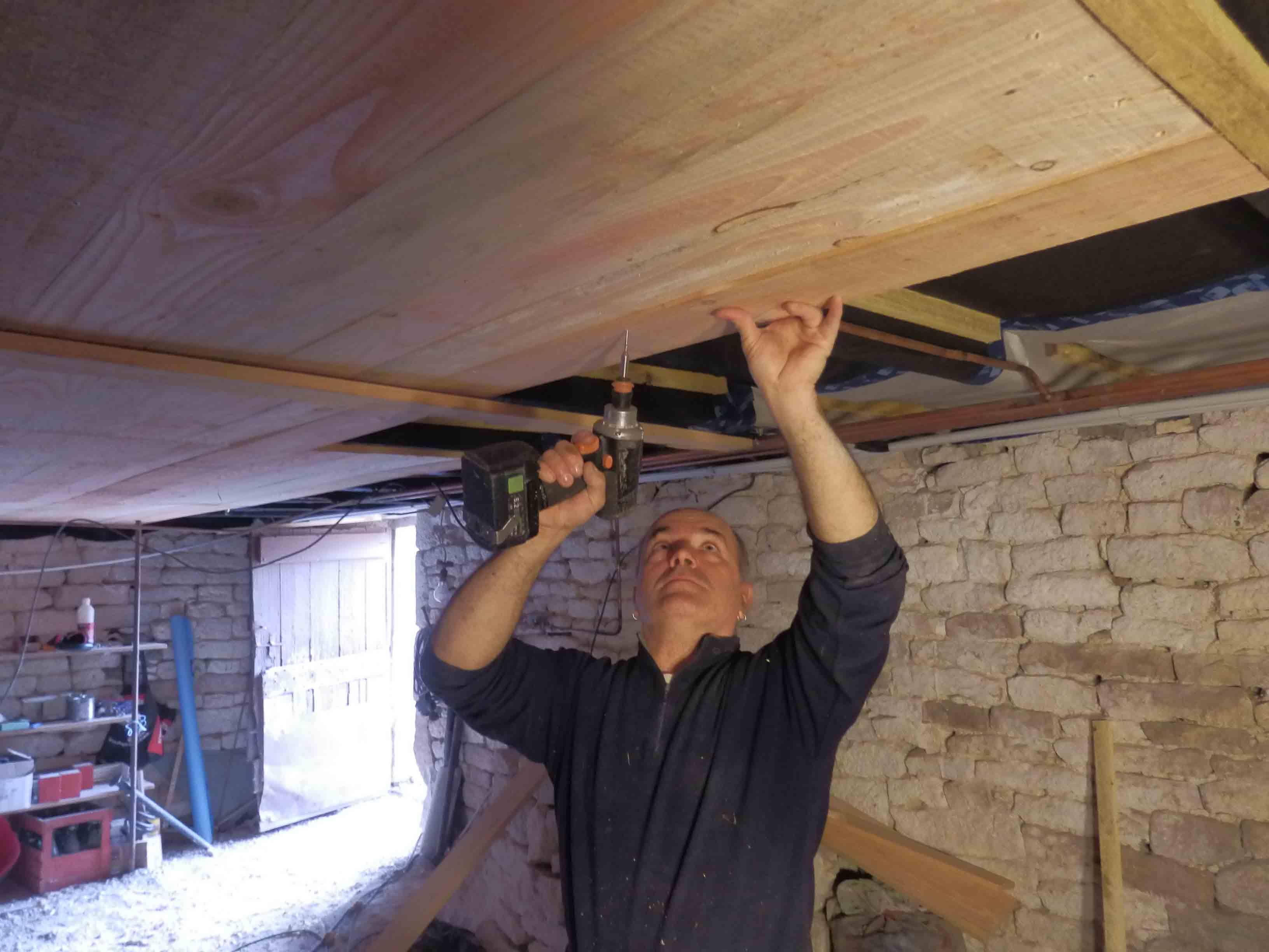 isolation de plancher