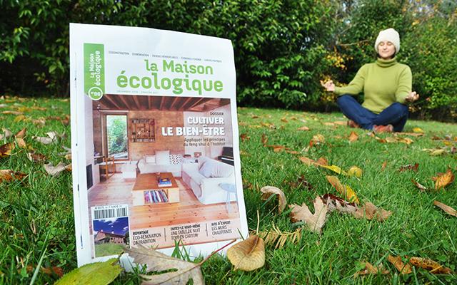 Cultivez le bien-être par le feng shui, un dossier du magazine La Maison écologique n°96