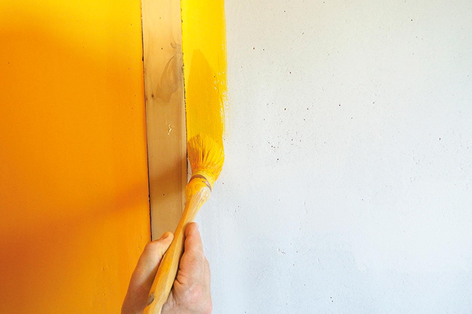 Peinture à la caséine