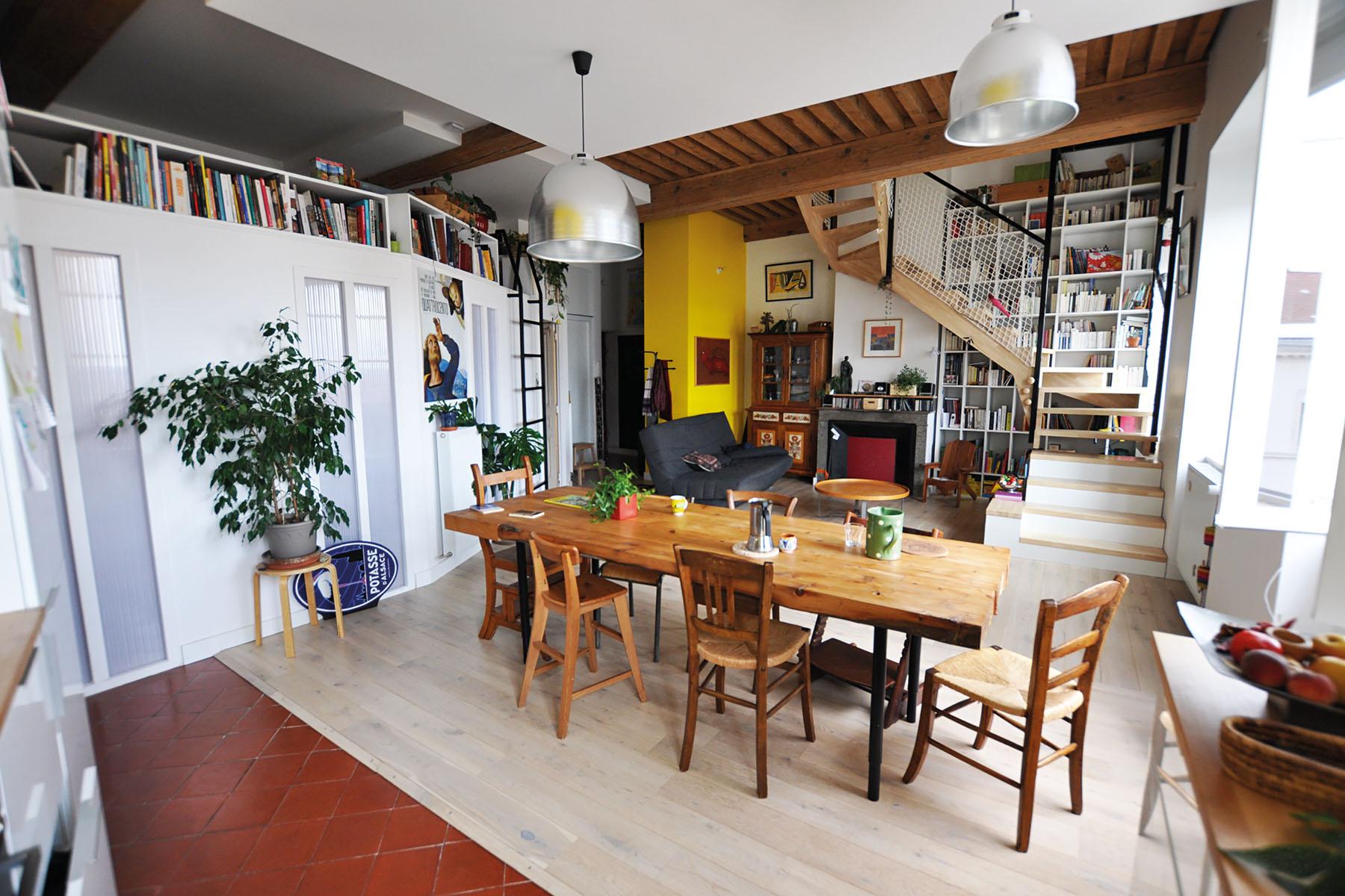 r nover un duplex basse consommation la maison cologique. Black Bedroom Furniture Sets. Home Design Ideas