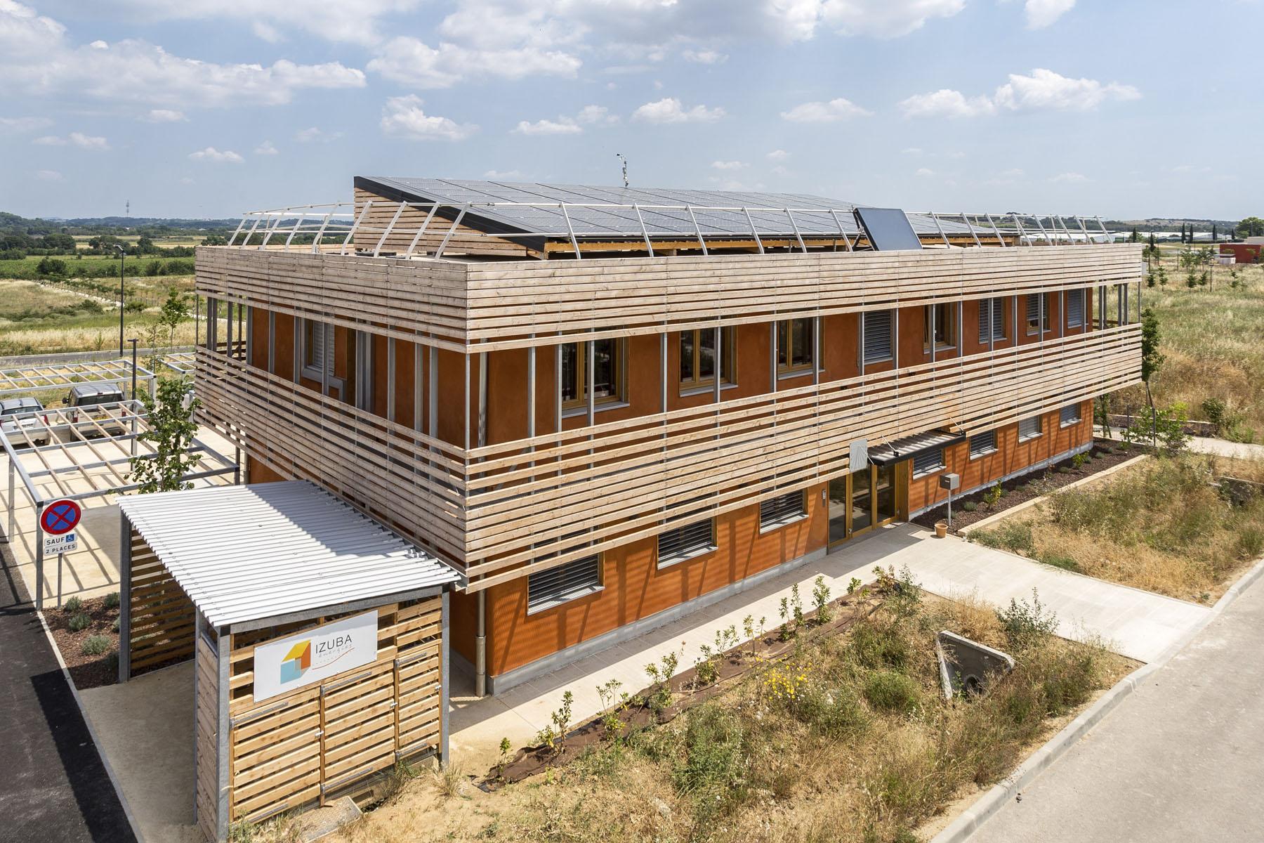 Les bureaux Enertech et Izuba Energies