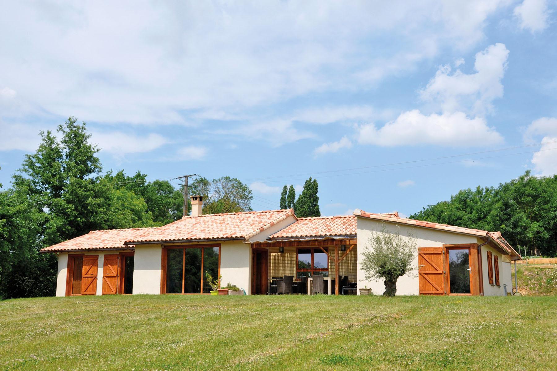 Maison écologique en chanvre en Vendée. crédit Gwendal Le Ménahèze
