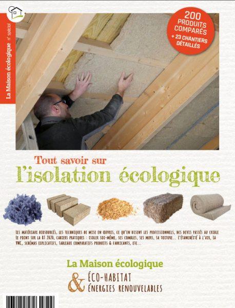 pré-couv Tout savoir sur l'isolation écologique