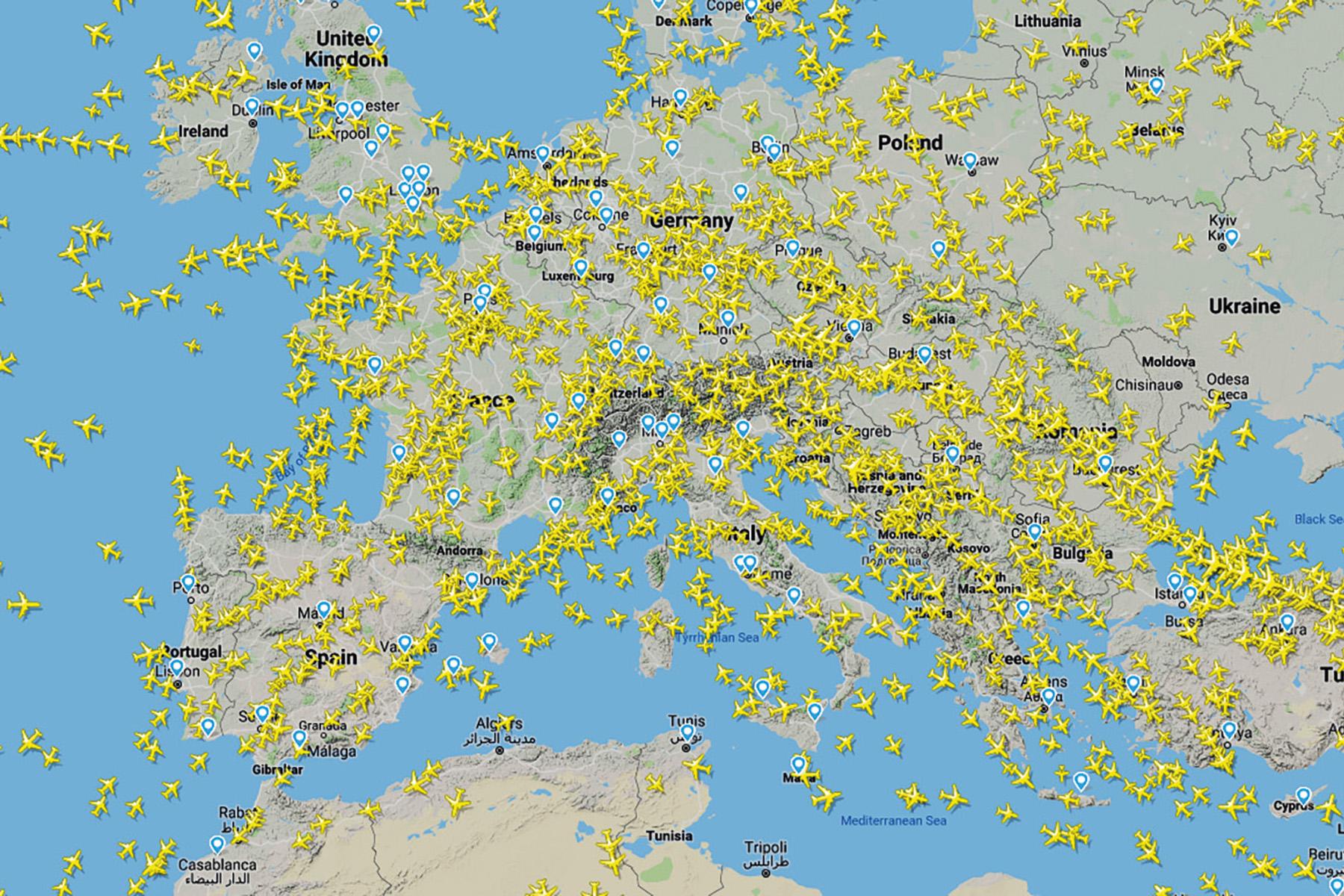 Le vol aérien se banalise