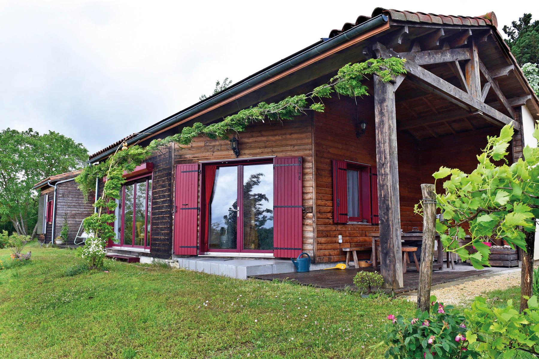 maison bioclimatique à faible consommation énergétique