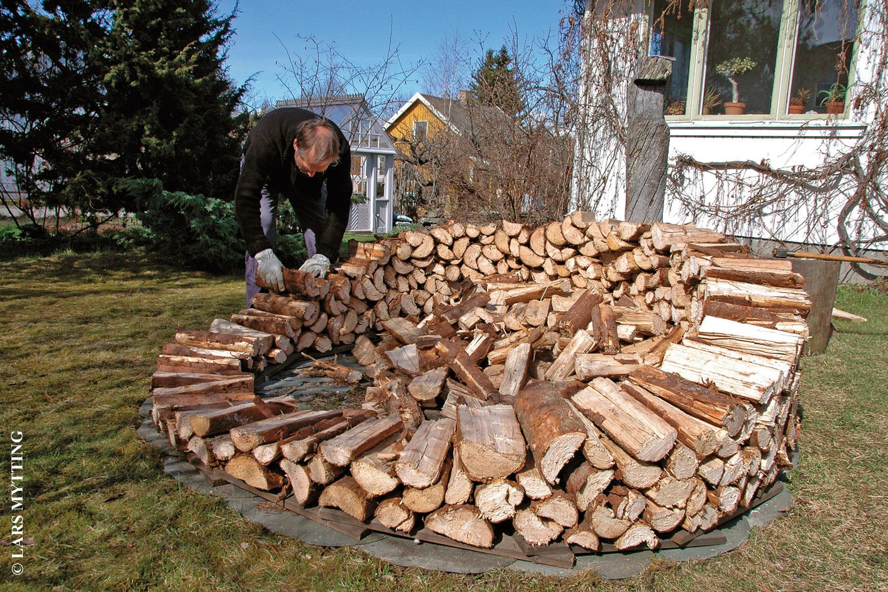 Gérer le bois de chauffage