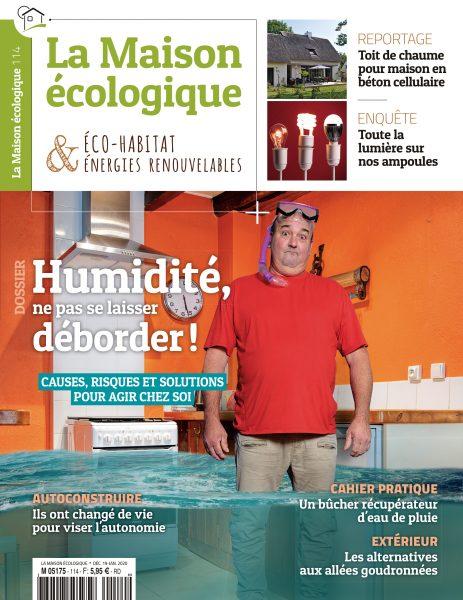 Couverture La Maison écologique n°114
