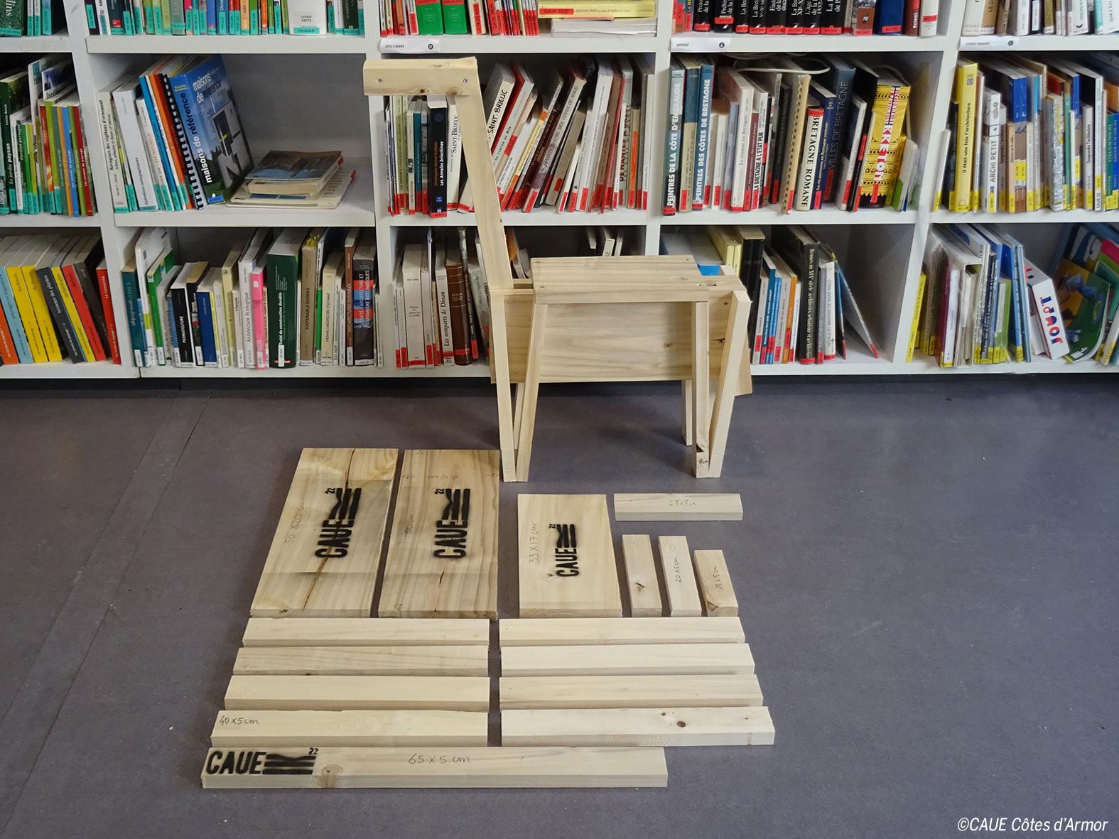 Fabriquer une chaise d'enfant