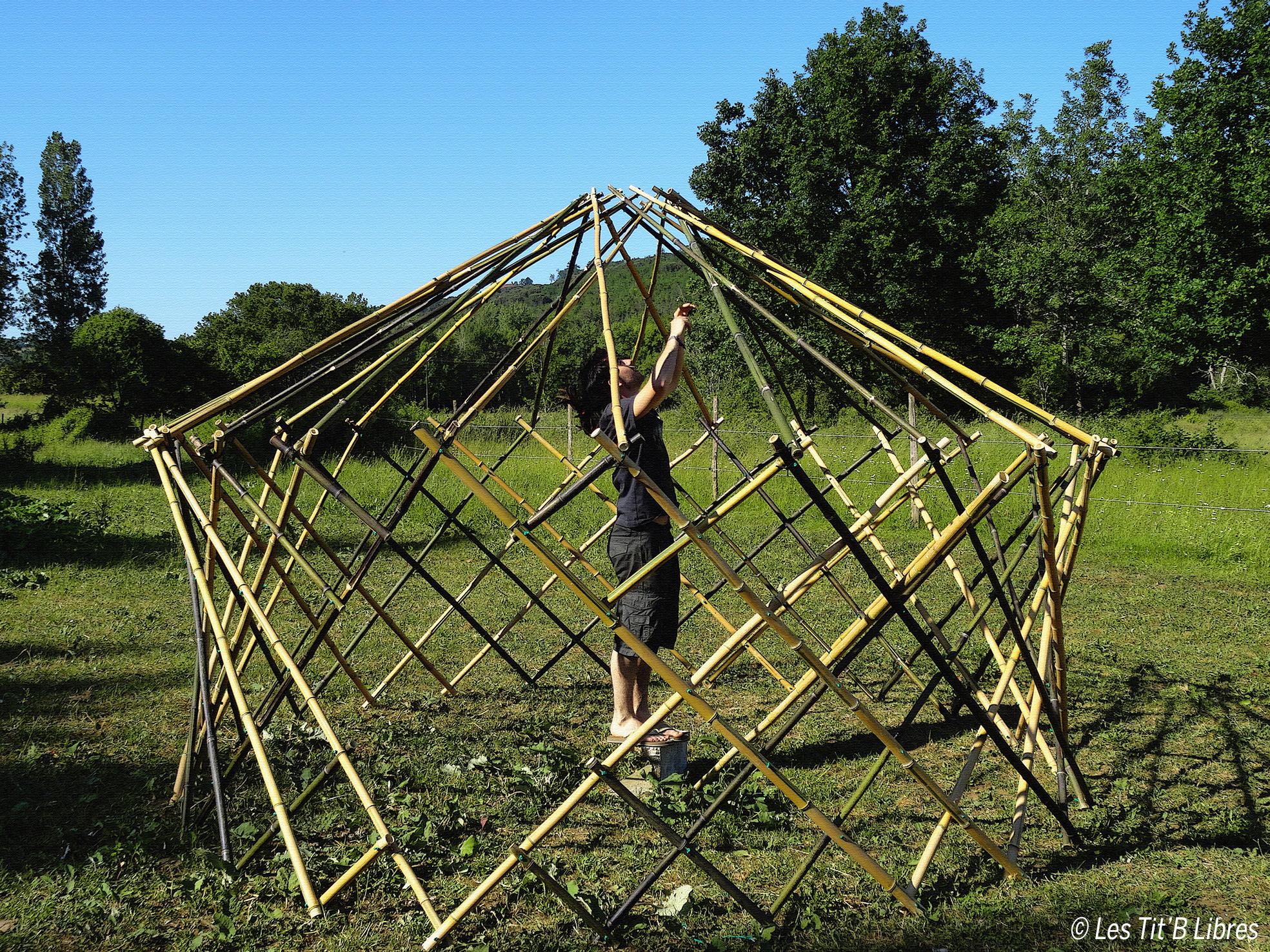 DIY - Construire une FlexYourte