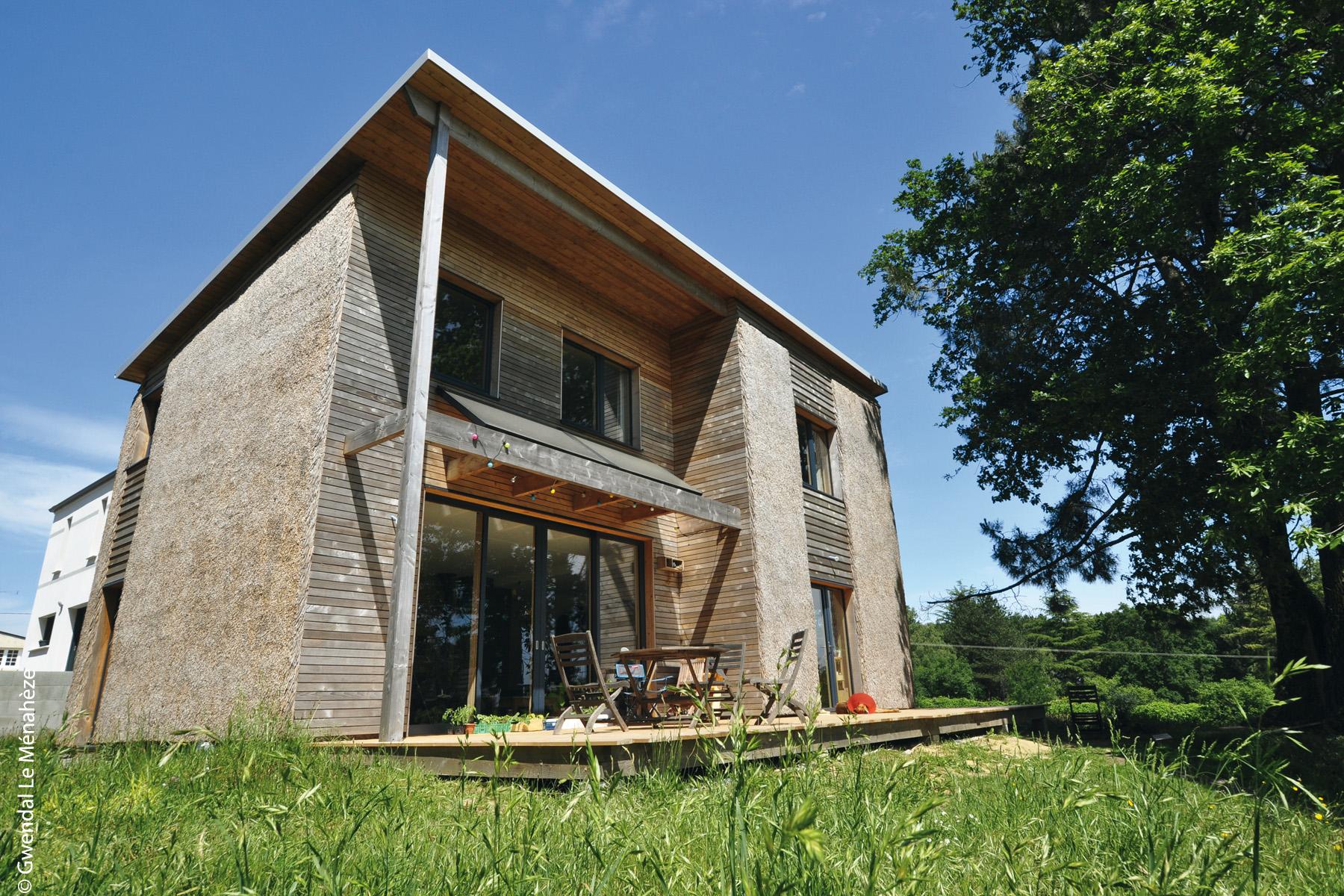 maison roseau